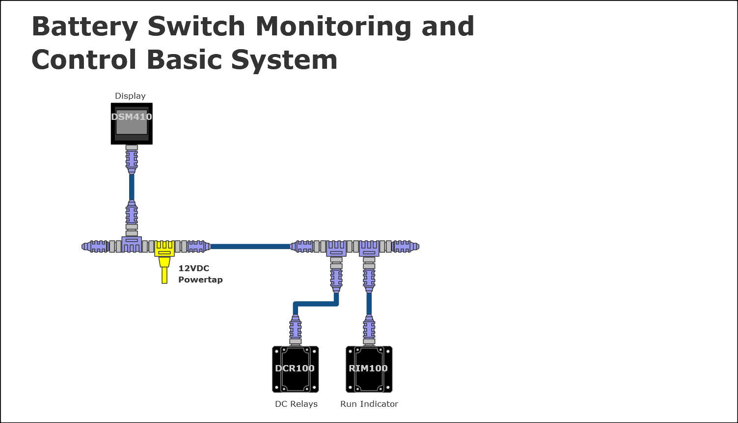 blue sea charging relay wiring diagram blue sea acr wiring