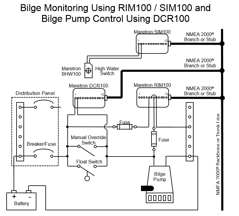 Wiring Diagram For Float Switch On A Bilge Pump : Wiring diagram for bilge pump float switch the