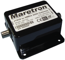 Maretron - J1939 to NMEA 2000 Engine Monitoring Gateway (J2K100)