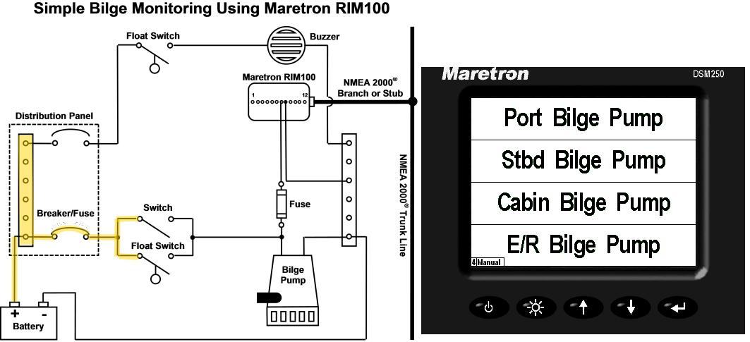 sahara s500 bilge pump wiring diagram system diagram