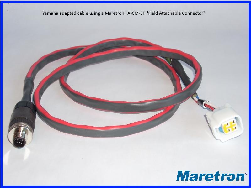 How do I make a custom NMEA 2000 cordset cable? Does Maretron offer ...