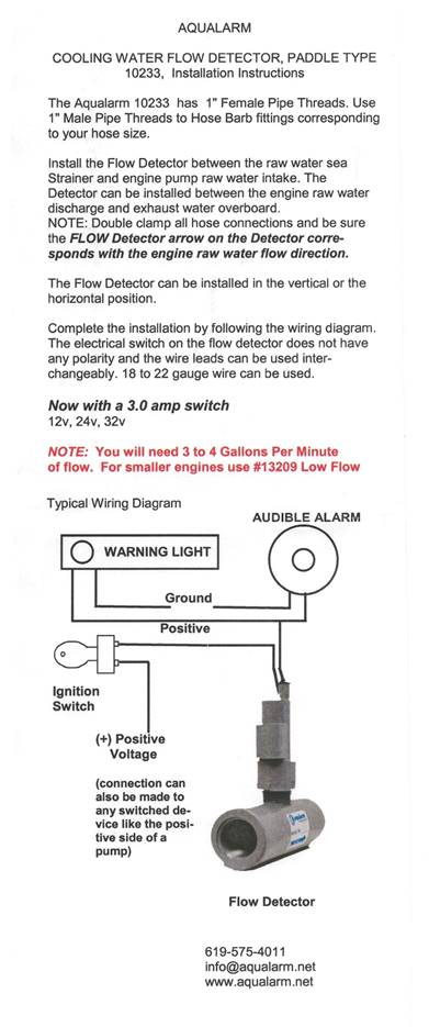 Installation Instructions  10233 1 U0026quot  Fpt Cooling Water Flow